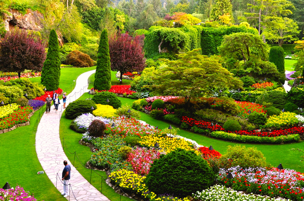 Cvs tours sightseeing tours in victoria bc - Best time to visit butchart gardens ...